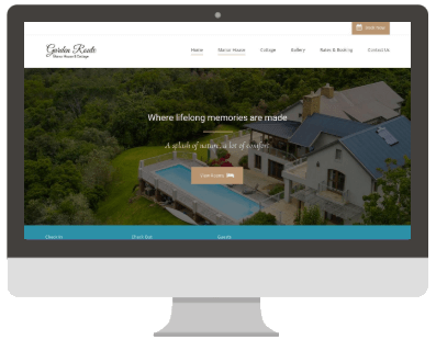 Garden Route Website