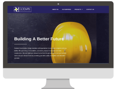 Godwin Construction Website